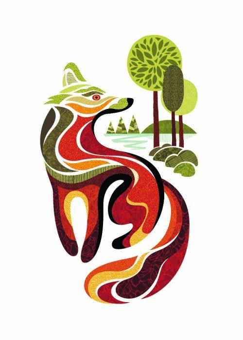 Impression numérique - Reno le renard