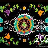 2022 Wall Calendar with Tracey Metallic Artworks