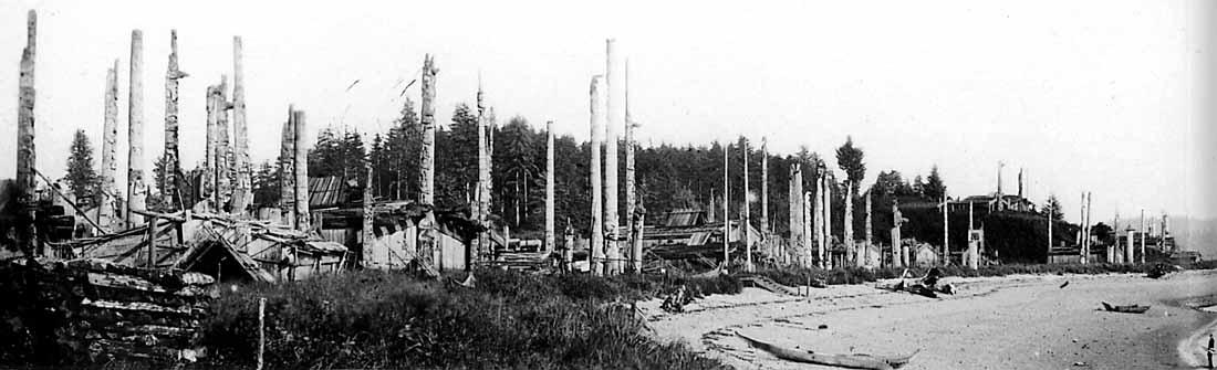 Civilisations Ca Les Haidas Villages De Haida Gwaii