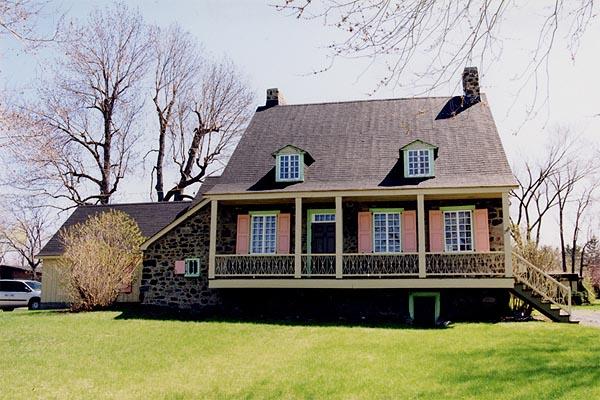 La maison nettie covey sharpe vue for Modele galerie exterieure