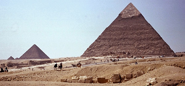 egyptian civilization - architecture - pyramids