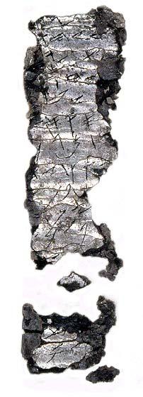 Amulette avec bénédiction religieuse