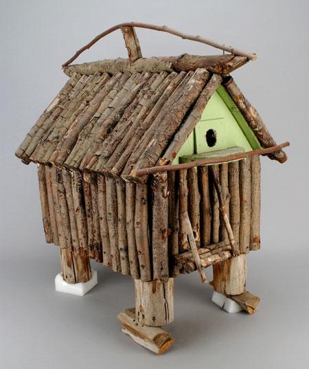 Marius barbeau cabane d 39 oiseaux for Comfabriquer cabane oiseau