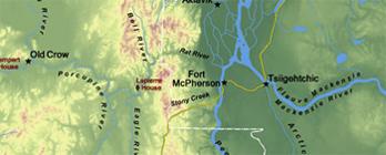 Territoires du Nord-Ouest et Yukon (Carte 1)