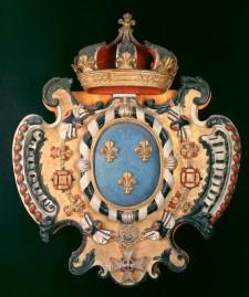 Armoiries royales de France, vers 1727
