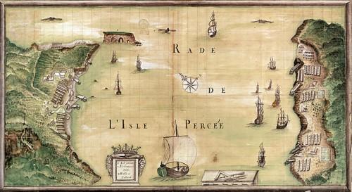 Rade de l'Isle Percée, 1686