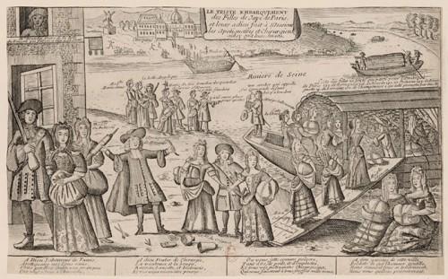 Embarquement des filles de joies de Paris pour la Louisiane, 1726