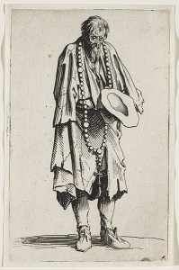 Le mendiant au rosaire