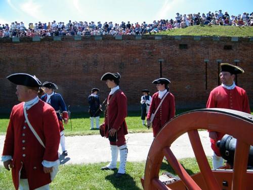 Reconstitution au Fort Niagara