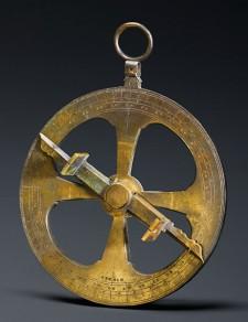 Astrolabe dit « de Champlain », portant la date de 1603