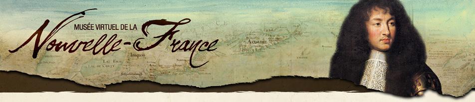 Le Brun, Charles (1619-1690). Portrait de Louis XIV (détail), 1662. MV 5930. Photo: Franck Raux. Châteaux de Versailles et de Trianon, Versailles, France. Crédit Photo: Réunion des Musées Nationaux / Art Resource, NY | Carte de l'Amérique septentrionale (détail), attribuée à Claude Bernou, 1681, Cartes et plans, GE SH 18E PF 122 DIV 2 P 0 RES, Bibliothèque nationale de France