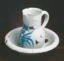 Cuvette et pot à eau