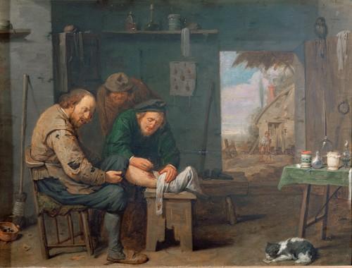 Le chirurgien, 1638, par David Ryckaert III