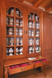 Reconstitution d'une pharmacie au Musée Canadien des civilisations