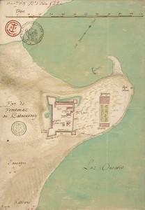 Fort de Frontenac ou katarakouy en 1685