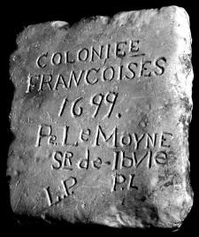 La pierre d'Iberville