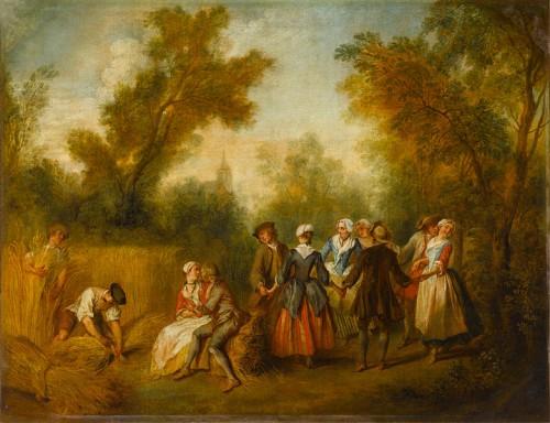 L'été, par Nicolas Lancret (1690-1743)