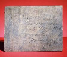 Plaque de La Vérendrye (verso)