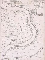 Carte particulière contenant depuis la Nouvelle Orléans 10 lieues de longueur le long du fleuve, avec le terrain des habitans qui fleurissoient sous M. Perier