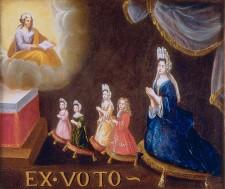 Ex-Voto de Madame Riverin et de ses enfants