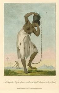 Esclave enchaînée à un poids, 1796, par John Gabriel Stedman