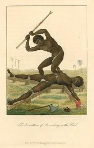 Esclave torturé, 1796, par John Gabriel Stedman