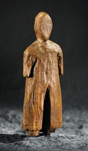 Figurine Inuit d'un homme norois