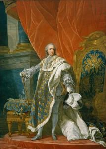 Portrait de Louis XV