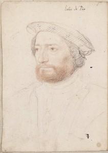 Jean François de La Roque, sieur de Roberval, par François Clouet (vers 1515-1572)