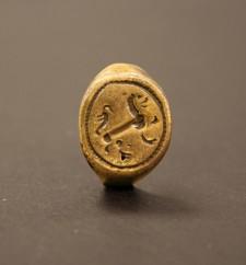 Chevalière provenant de la collection archéologique du site de Croatan