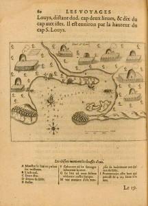 Port St-Louis, 1613, par Samuel de Champlain