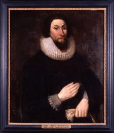 Portrait de John Winthrop, peint vers 1630-1691, artiste anonyme