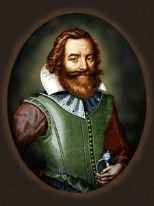 Portrait du Capitaine John Smith