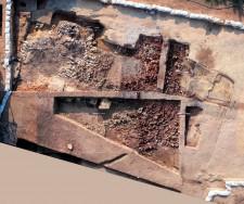Vue du site archéologique de l'établissement de John White