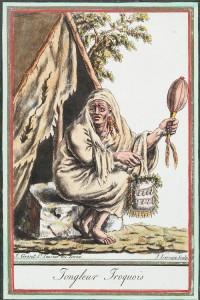 Jongleur Iroquois, vers 1796-1804