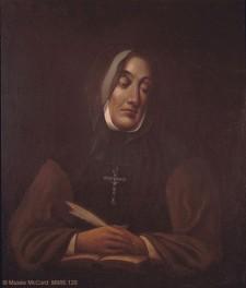 Portrait de Mère Marguerite d'Youville, 1825-1881, par James Duncan