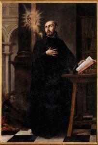 Saint Ignatius Loyola recevant le nom de Jésus, 1676, par Juan de Valdes Leal
