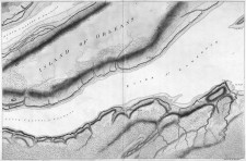 Carte du St-Laurent par le Général James Murray, 1761