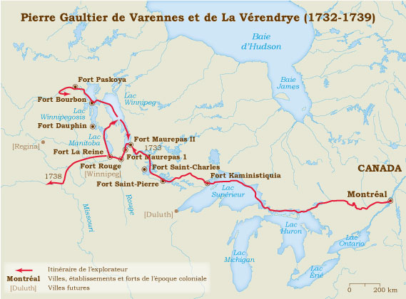 Laverendrye 1732-1739