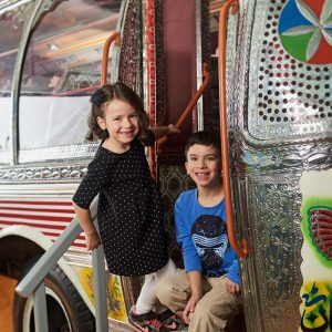 Montez à bord d'un autobus du Pakistan