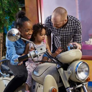 Rouler en motocyclette