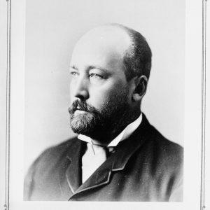 Portrait de William Cornelius Van Horne, directeur général du Canadien Pacifique