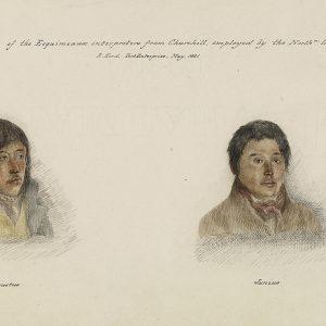 Portraits de deux hommes