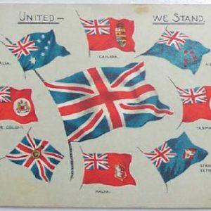 Carte postale patriotique