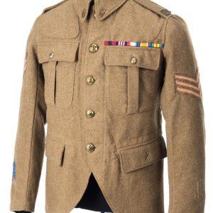 Veste de tenue de service ayant appartenu au sergent Alexander Reid