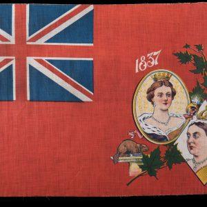 Drapeau commémorant le jubilé de diamant de la reine Victoria