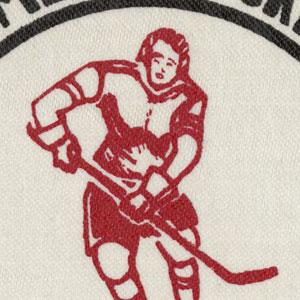 Badge de hockey féminin, 1975