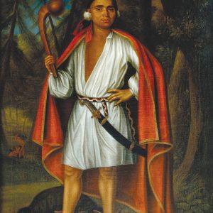 Portrait d'un chef autochtone
