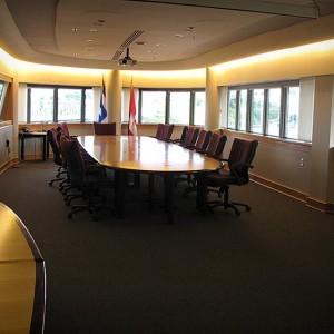 Salle de réunion de la haute direction