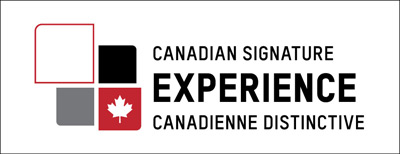 Logo - Destination Canada, expériences canadiennes distinctives